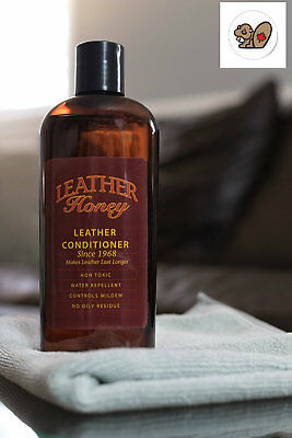 Leather Honey Leather Conditioner: The Best Leather Conditioner Since 1968, 8 Oz