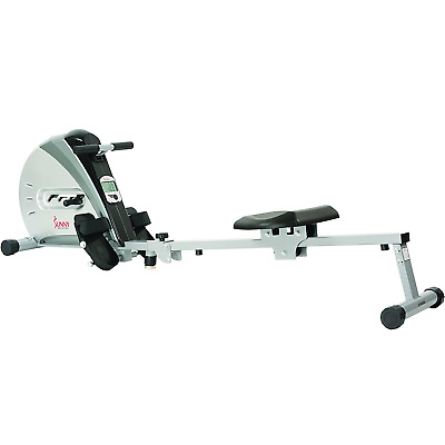 Folding Rowing Machine Adjustable Resistance Rower Health Fitness Home Workout