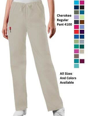 Cherokee Scurbs WorkWear Unisex Regular Pant 4100 All Sizes and Colors Avaliable