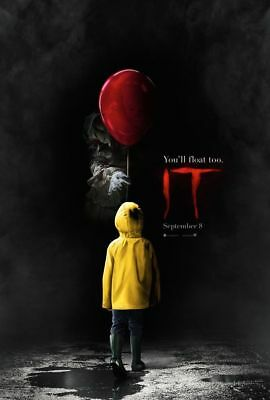 It POSTER Stephen King 11.5x17 Promo Movie Poster