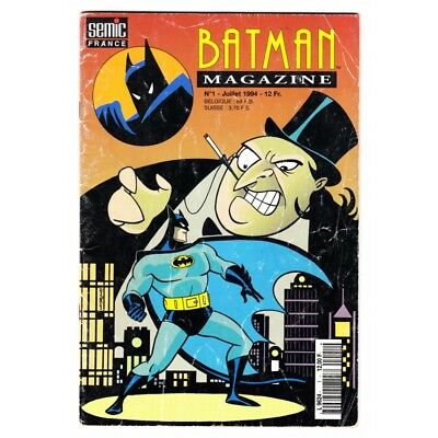 Batman Magazine (Semic) N° 1 - Comics DC