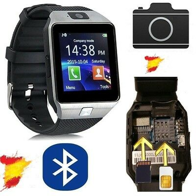 Reloj Inteligente SmartWatch DZ09 Bluetooth Cámara SIM Movil iOS Android WATCH