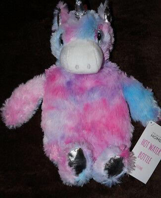 Neu Einhorn Unicorn Rainbow Wärmflasche Hot Water Bottle 1000Ml Primark Neu