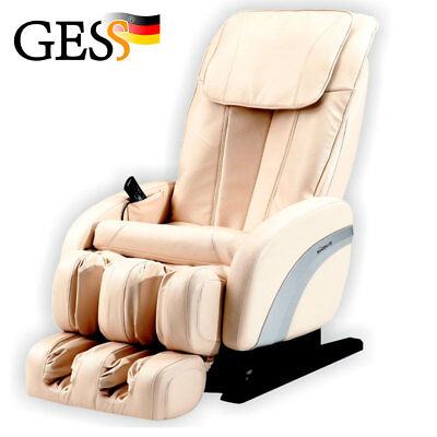 Electric massage chair for home relax body Comfort (beige)