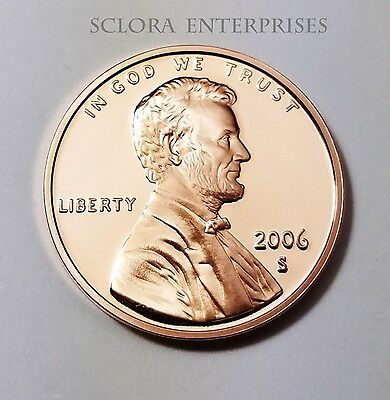 2006 S Lincoln Memorial *proof* Cent / Penny  **free Shipping**