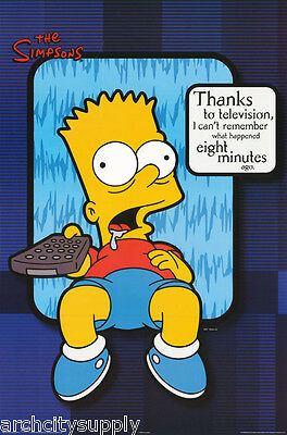 Lot Of 3 Posters:tv:animation: Bart Simpson - Bart Tv -Free Ship #8536  Rap27 A