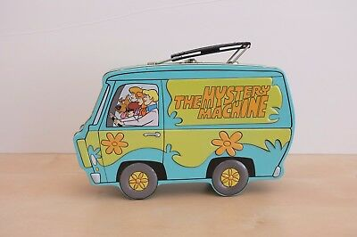 Scooby-Doo The Mystery Machine Metal Tin Lunch Box