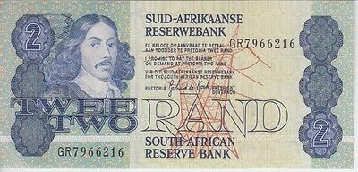 SOUTH AFRICA  BANKNOTE  P118d 5 RAND  SIG. 6 ALMOST UNCIRCULATED/ UNCIRCULATED