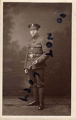 WW1 soldier Royal Fusiliers Derby photographer