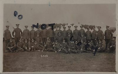 Soldier Group Glosters Gloucestershire Regiment TF tented camp