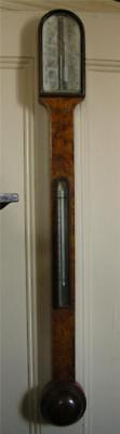 Gorgeous Scottish (Aberdeen) Stick Barometer C. 1850 by J. Berry