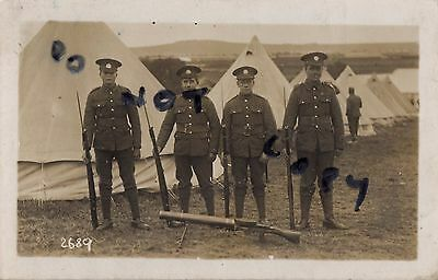 Soldier group Northants Northamptonshire Regiment TF Bulford 1925 Lewis Gun