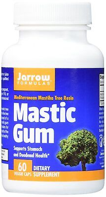 Jarrow Formulas Mastic Gum, Supports the Stomach and Duodenal Health, 60 Caps