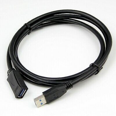 1.5 Metre USB 3.0 Extension Extend A Male to Female High Speed Fast Cable Lead