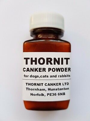THORNIT CANKER POWDER - EAR MITES TREATMENT FOR DOGS, CATS & RABBITS - 20g