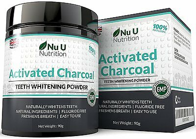 Activated Charcoal Natural Teeth Whitening Powder 100% Natural and Non Abrasive