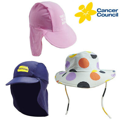 Sun Protection Hats  - Cancer Council - Assorted Sizes and Colours