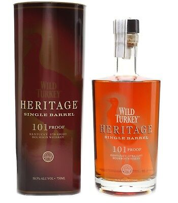 Wild Turkey Heritage Kentucky Bourbon Whiskey 750ml