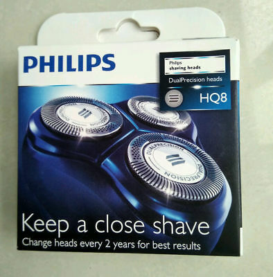 3 XGenuine Philips Shaver Razor Head Replacement For Norelco HQ8/52 Heads