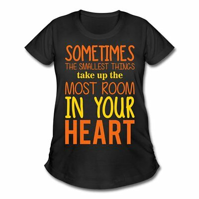 Pregnancy Quote Smallest Things Women's Maternity T-Shirt by Spreadshirt™