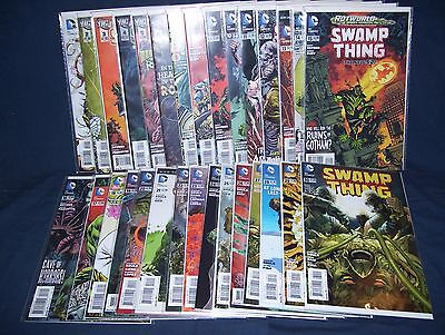 Swamp Thing #0, #2 - #30 NM with Bag and Board DC Comics New 52