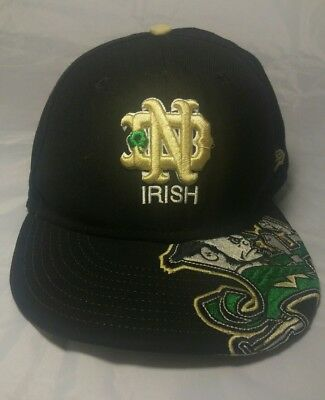 2b50a0f8d64 Notre Dame Fighting Irish Fitted Hat 7 1 8 New Era 59Fifty Ncaa College  Apparel
