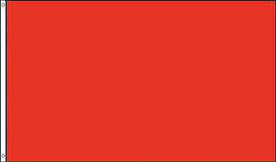 3x5 Solid Color Red Plain Flag 3'x5' Red House Banner grommets polyester
