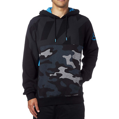 Fox Racing 2017 Kaos Pullover Hoodie Men Camo Fleece Sweatshirt Jumper Size S-XL