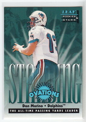 1998 Leaf Rookies and Stars Standing Ovation #2 Dan Marino #4236/5000