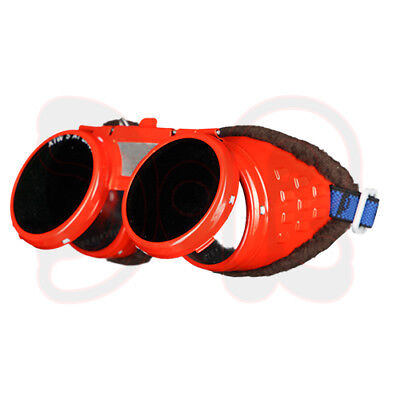 Scapp Sweat Goggles Flame Red, Foldable, Sweat Glasses Welders Goggles