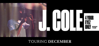 J Cole GA Standing Tickets - Sydney - Monday 4 December