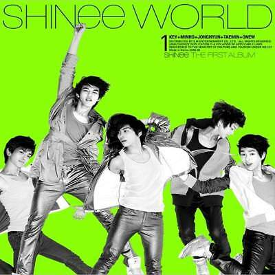 SHINEE [THE SHINEE WORLD] 1st First Album A Ver CD+Booklet+GIFT K-POP SEALED