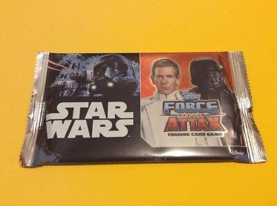 Star Wars Toops Force Attax - Unopened Pack (8 cards per pack)
