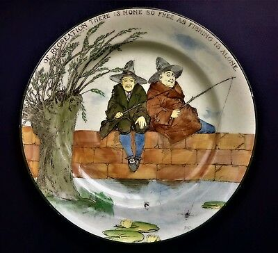 ROYAL DOULTON Seriesware PLATE - GALLANT FISHERS D3680