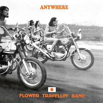 FLOWER TRAVELLIN' BAND - Anywhere. New LP + CD + sealed