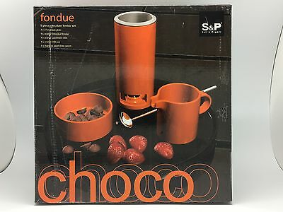 Chocolate Fondue Set - S&P Choco Fondue Set 5-piece Never Used