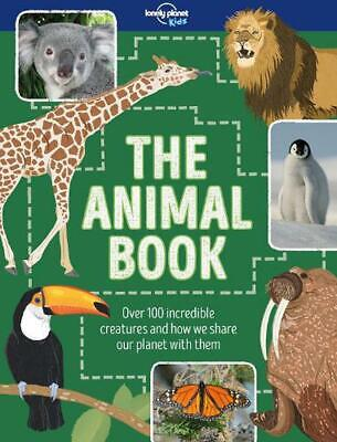 The Animal Book by Lonely Planet Kids Hardcover Book Free Shipping!