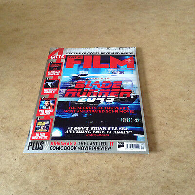 Total Film Oct 2017 + Blade Runner Art Card 52-Page Mag Origami Unicorn Kit