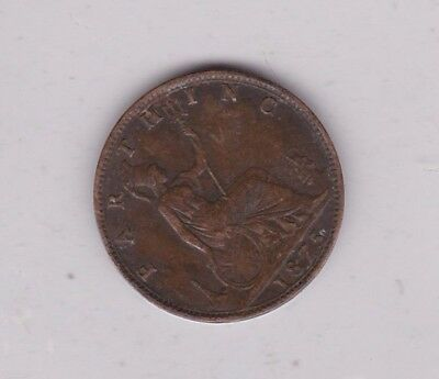 1875 Victorian Farthing In Good Very Fine Condition