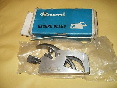 Record No. 077 Rebate Plane - As Photo's Made In England