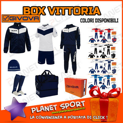 BOX VITTORIA 6 pz Givova SPORT Calcio Forniture Calcetto SUPER PROMO