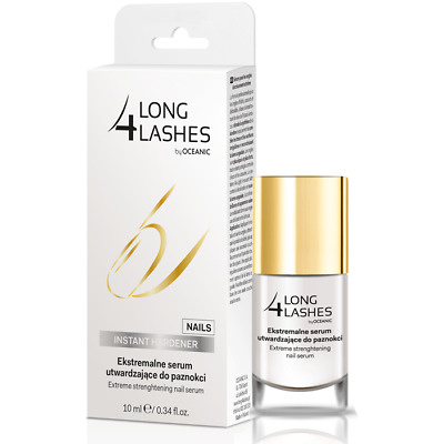 Long 4 Lashes Extreme Strenghtening Nail Serum Conditioner 10ml