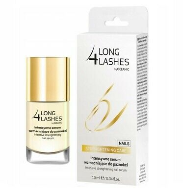 Long 4 Lashes Intensive Strengthening Nail Serum Conditioner 10ml
