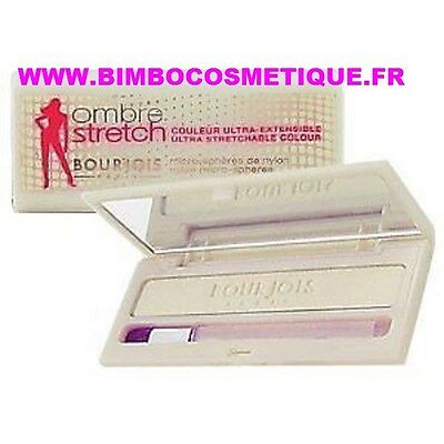 Bourjois Fard Ombre A Paupieres Stretch 02 Maxi Blanc Couleur Ultra Extensible