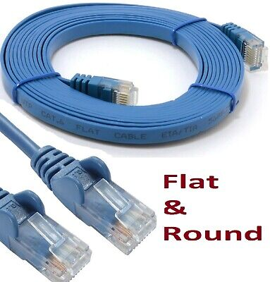 RJ45 Cat6 & Cat5e Network Lead Ethernet Snagless LAN UTP Patch Cable Wholesale