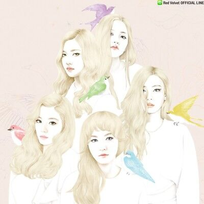 RED VELVET [ICE CREAM CAKE] 1st Mini Album RANDOM CD+Photo Book+Card+GIFT SEALED