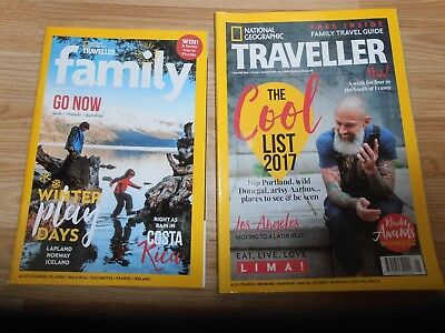 National Geographic Traveller Magazine JAN/FEB 2017 WITH FAMILY TRAVEL GUIDE