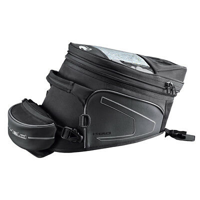Held Campo Black Motorcycle Velcro System Fastening Tank Bag Straight Large