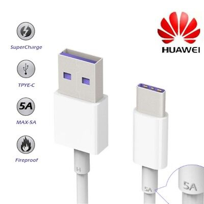 Original Huawei 5A SuperCharge Kabel USB-C 3.1 Datenkabel Ladekabel Mate 9 P10
