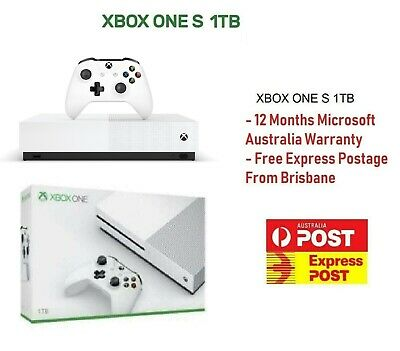 Xbox One S 1TB Console Brand New Free Express Postage From Brisbane